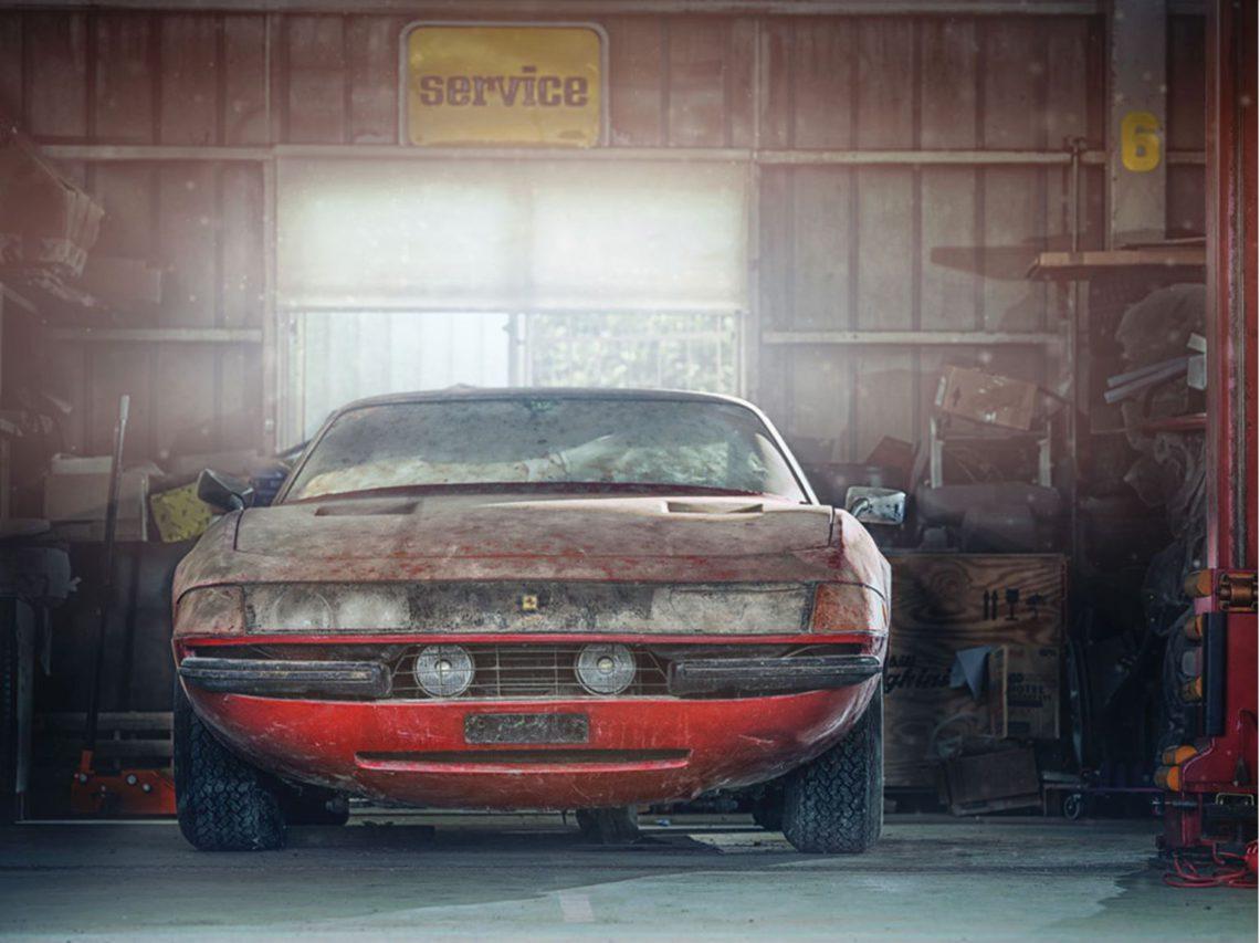 フェラーリ 365 GTB/4 デイトナ 正面